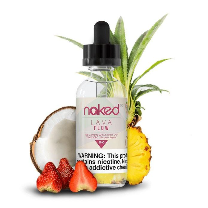 Lava Flow Ejuice by Naked 100 Review