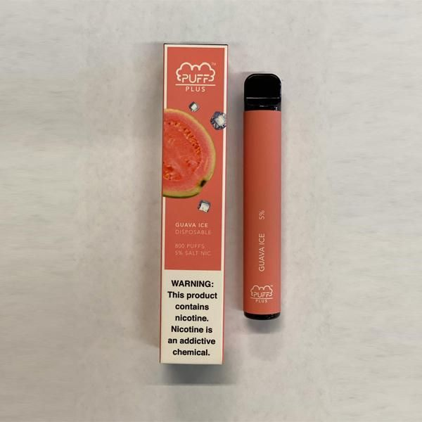 Puff Bar Plus Disposable E-Cig by Puff Review
