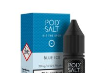 Blue Ice Nic Salt E-Liquid by Pod Salt Review